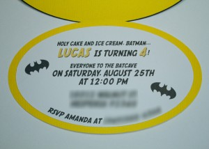 Handmade batman invitations, batman svg file, scrapbooking, cutouts, kids birthday party, superhero, comic book, cartoon character