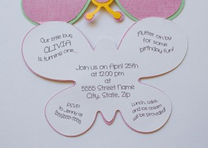 Butterfly svg, butterfly invitation cutout, garden party, birthday party, baby shower, bugs, insect