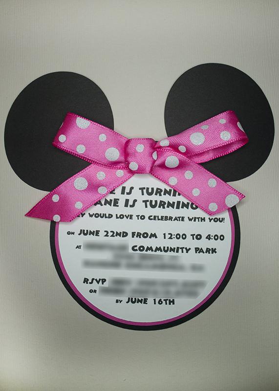 Handmade Mickey Mouse Invitations was luxury invitation template