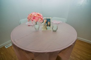 30th anniversary sweetheart table