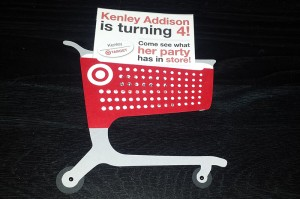 Target invitations, shopping cart svg, birthday party, handmade, cricut, silhouette