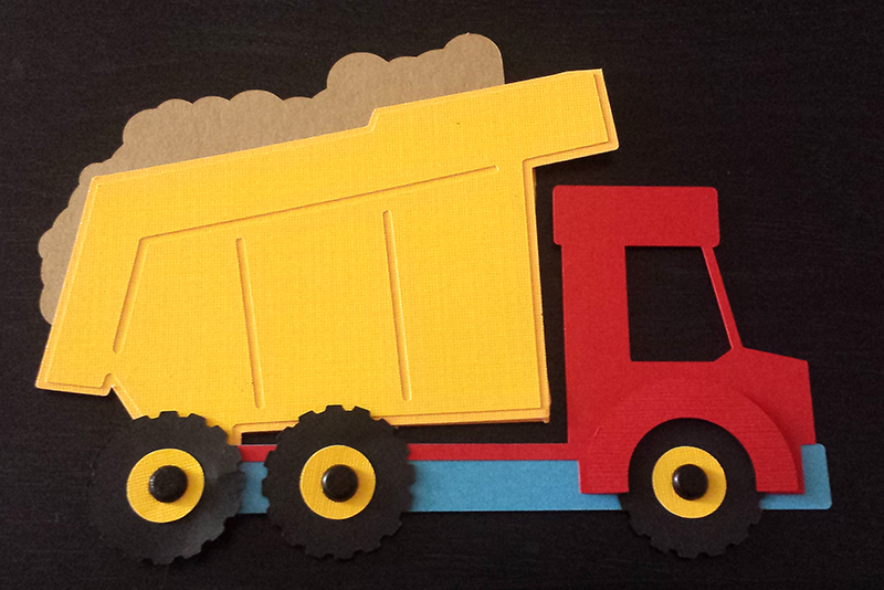 Grealish Greetings Blog Archive The cutest dump youll ever make – Dump Truck Party Invitations