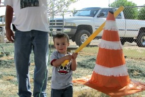 Construction party, dump truck, boys birthday